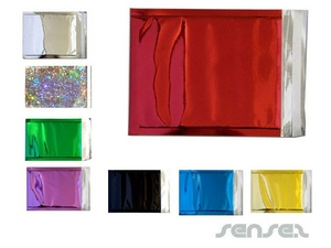 Coloured Silver Foil Envelopes (UNBRANDED)