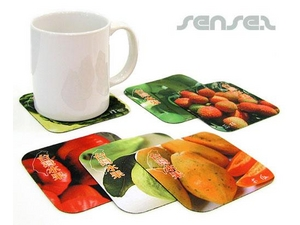 Photographic Fabric Coasters