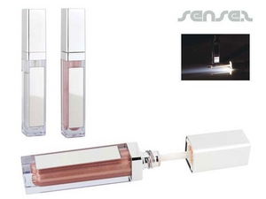 Lip Gloss with Mirror & Light