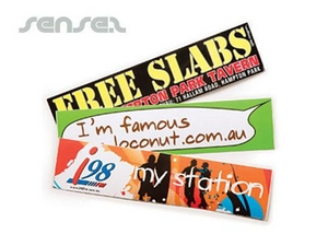 Gloss Paper Stickers (75x210mm)