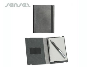 Bonded Leather Notepad A6