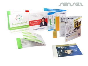 USB Webkey Fold out Cards
