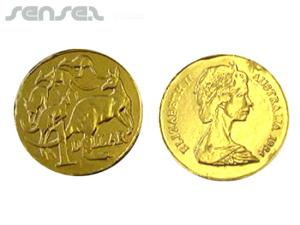 Unbranded Australian Chocolate Coins