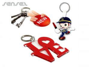Custom Shaped Acrylic Keyrings