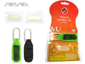 Mosquito Repellent Carabiner Pouches
