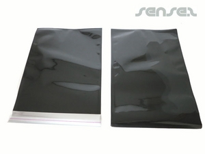 Stock A5 Size Black Foil Envelopes (UNBRANDED)