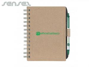 Chipboard Notebooks with Pen