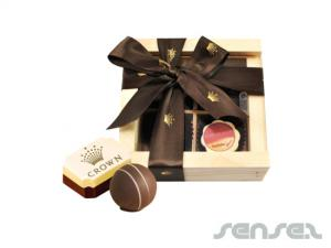 Praline Truffles in Timber (4 pcs)