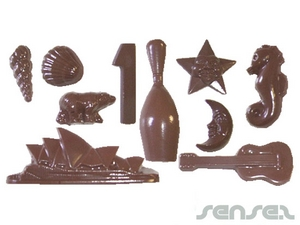 Custom Shaped Chocolates
