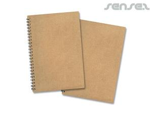 Dublin Spiral Eco Notebooks (A5)