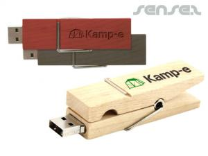 Holz USB Sticks Peg (1GB)
