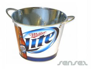 Tin Ice Buckets