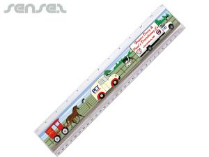 Full Colour Insert Rulers (30cm)