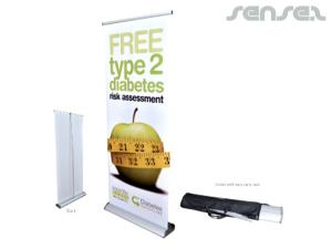 Roll Up Banners (850mm)