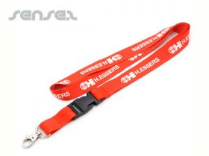 Lanyards with Detachable Buckle