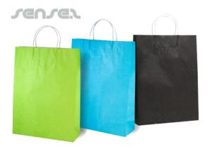 Colour Paper Bags (Large)
