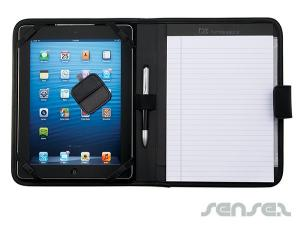 Leather Accent Tablet Compendiums