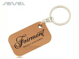 Bamboo Keychains