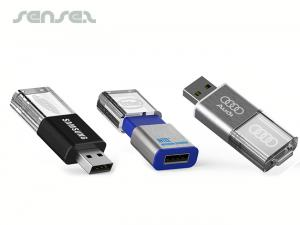 LED-Kristall-USB-Sticks (4 GB)