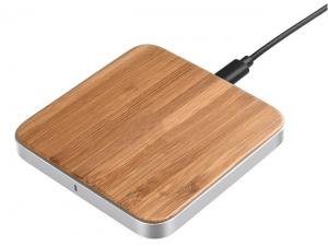Wireless Bamboo Mobile Phone Chargers