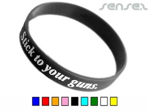 Printed Silicone Wristbands (Express)
