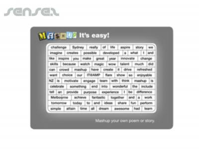 Magnetic Word Puzzles