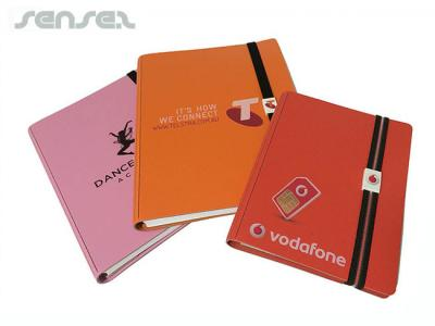 Recycled Leather Notebooks (A6)