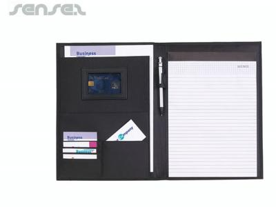 Conference Folders With Note Pad