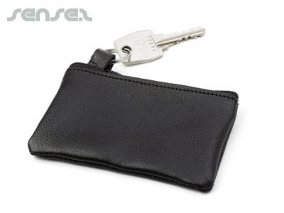 Boston Leather Key Wallets