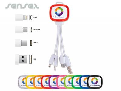 3 in 1 Light Up Charging Cables