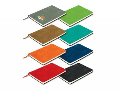 Faux Suede Soft Cover Notebooks (A5)