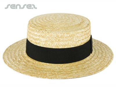 Straw Boater Hats