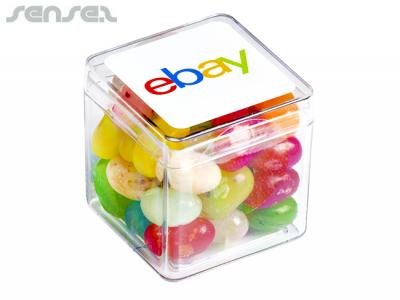 Cube Filled With JELLY BELLY Jelly Beans (60g)