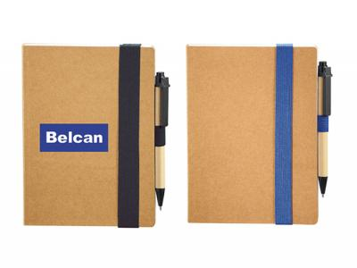 Bound Eco Notebooks With Pen