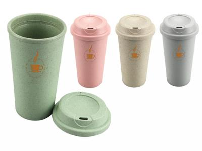 Thermo Bio Bamboo Reusable Coffee Cups (550ml)