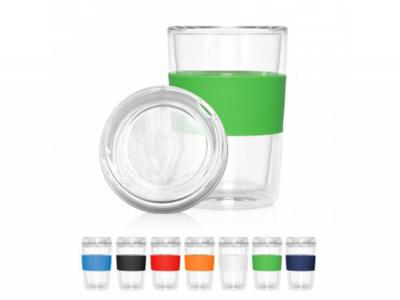 Pure Double Wall Glass Cups (300ml)