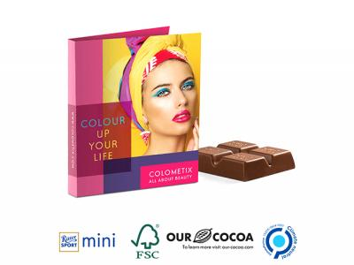 Promotion Cards With Ritter Sport Minis (16.5g)