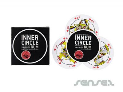 Round Shaped Playing Cards