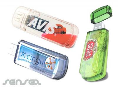 Liquid Filled USB Sticks (2GB)