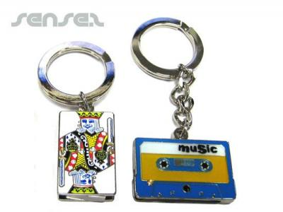 Metal 2GB USB, With Key Ring