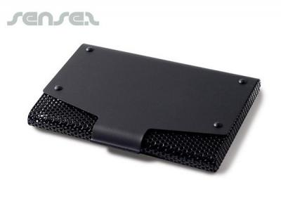 Black Mesh  Business Card Holders