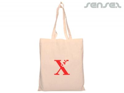 Branded Cotton Calico Bags (140gsm)