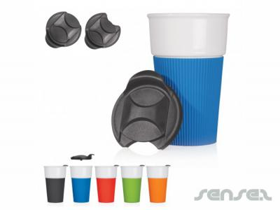 Takeaway Ceramic Tumblers (370mL)
